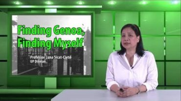 Finding Genoa, Finding Myself