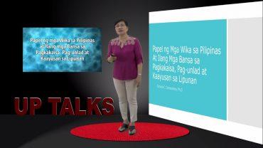 Papel ng mga Wika sa Pilipinas at ilang mga bansa sa Pagkakaisa, Pag-unlad at Kaayusan sa Lipunan