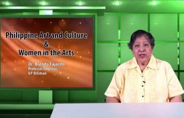 Philippine Art and Culture & Women in the Arts