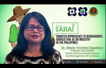 Project SARAi: Smarter Approaches to Reinvigorate Agriculture as an Industry in the Philippines