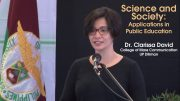 Science and Society: Applications in Public Education