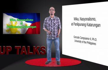 Wika, Nasyonalismo at Panlipunang Katarungan