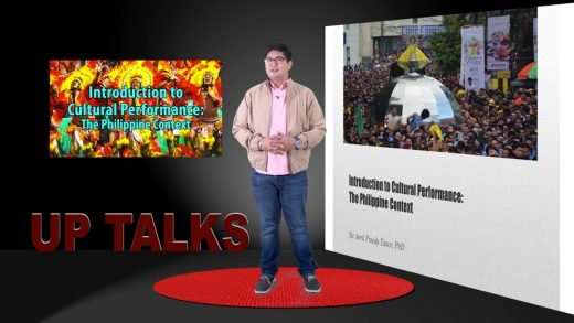 Introduction to Cultural Performance: The Philippine Context | Dr. Sir Anril Tiatco
