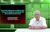 Kung Paano Iniligaw Ako ng Wikang Ingles | Dr. Bienvenido Lumbera