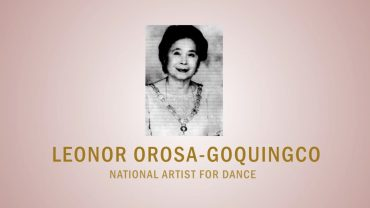 PAGPUPUGAY: A Tribute to National Artist Leonor Orosa-Goquingco