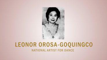 PAGPUPUGAY: A Tribute to National Artist Leonor Orosa-Goquingco