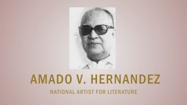 PAGPUPUGAY: A Tribute to National Artist Amado V. Hernandez