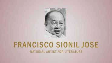 PAGPUPUGAY: A Tribute to National Artist F. Sionil Jose