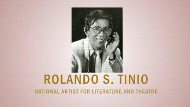 PAGPUPUGAY: A Tribute to National Artist Rolando S. Tinio