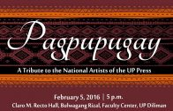 PAGPUPUGAY: A Tribute to the National Artists of the UP Press (Full Video of the Program)