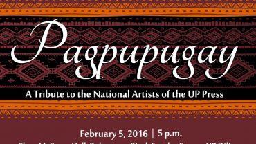 PAGPUPUGAY – National Artist Ramon Santos (Part VI)
