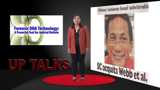 Forensic DNA Technology: A Powerful Tool for Judicial Reform | Dr. Maria Corazon De Ungria