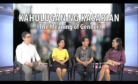 GENDER TALKS   Episode 01   Kahulugan ng Kasarian