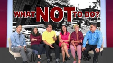 RISK REDUCTION AND MANAGEMENT   Episode 02   What NOT to Do