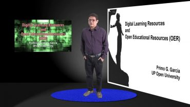Digital Learning Resources and Open Educational Resources   Dr. Primo G. Garcia