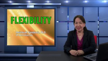 Flexibility | Dr. Melinda dP. Bandalaria