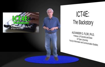 ICT4E: The Backstory