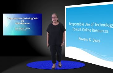 Responsible Use of Technology Tools and Online Resources