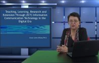 Teaching, Learning, Research and Extension Through ICT in the Digital Era