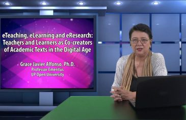 eTeaching, eLearning and eResearch