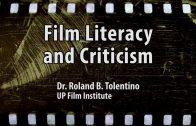 UP TALKS | Film Literacy and Criticism | Dr. Rolando B. Tolentino