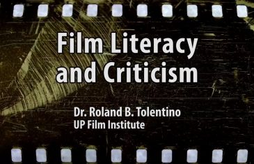 UP TALKS | Film Literacy and Criticism