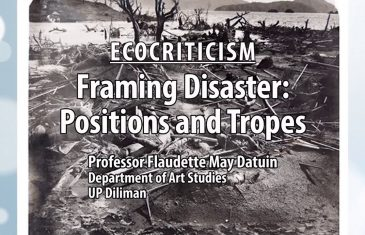 UP TALKS | Framing Disaster: Positions and Tropes