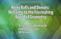UP TALKS | Hairy Balls and Donuts: Welcome to the Fascinating World of Geometry