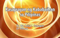 UP TALKS | Kasaysayan ng Kababaihan sa Pilipinas