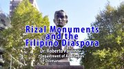 UP TALKS | Rizal Monuments and the Filipino Diaspora | Dr. Roberto Paulino