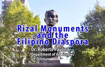 UP TALKS | Rizal Monuments and the Filipino Diaspora