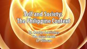 UP TALKS | Self and Society: The Philippine Context | Dr. Carolyn Sobritchea