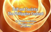 UP TALKS | Self and Society: The Philippine Context