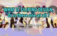 UP TALKS | What is Filipino Design? Or is there one at all? | Professor Leonardo C. Rosete