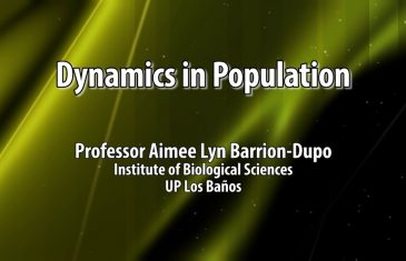 UP TALKS | Dynamics in Population