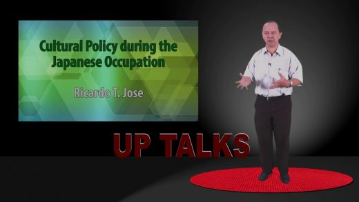 Cultural Policy during the Japanese Occupation   Dr. Ricardo T. Jose