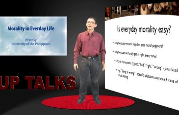 Morality in Everyday Life | Dr. Peter Sy