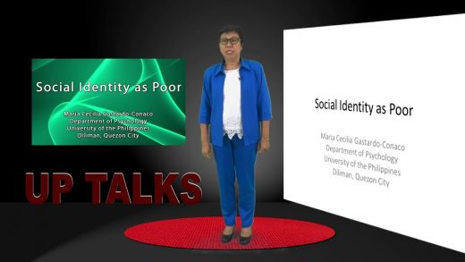 Social Identity as Poor | Dr. Maria Cecilia Gastardo-Conaco