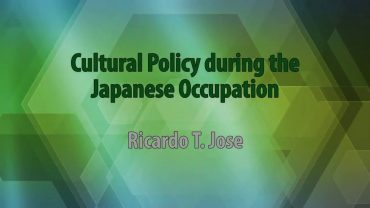 UP TALKS | Cultural Policy during the Japanese Occupation
