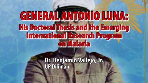 UP TALKS | Gen. Antonio Luna: The International Research Program on Malaria