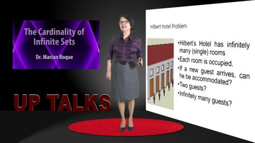 UP TALKS | The Cardinality of Infinite Sets | Dr. Marian Roque