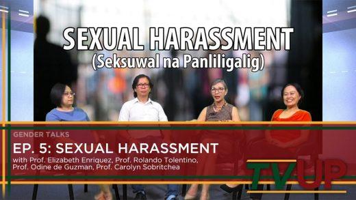 GENDER TALKS | Episode 05: Sexual Harassment