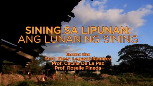 UP TALKS | Sining Sa Lipunan: Ang Lupon ng Sining