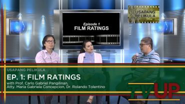 USAPANG PELIKULA | Episode 01: Film Ratings