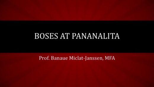 UP TALKS | Boses at Pananalita | Prof. Banaue Miclat-Janssen