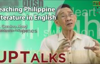 UP TALKS | Teaching Philippine Literature in English | Gemino Abad