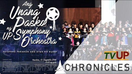 UP Chronicles | Ang Unang Pasko ng UP Symphony Orchestra