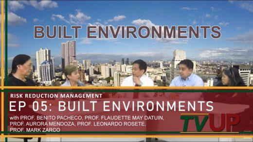 RISK REDUCTION MANAGEMENT | Episode 05: Built Environments
