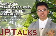 UP TALKS | Dynamics and Interactions of Living Systems With Their Environments | Jerome Bernardino