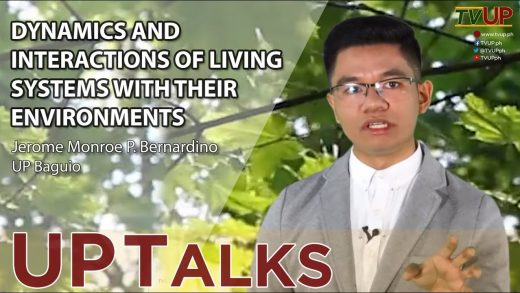 UP TALKS   Dynamics and Interactions of Living Systems With Their Environments   Jerome Bernardino